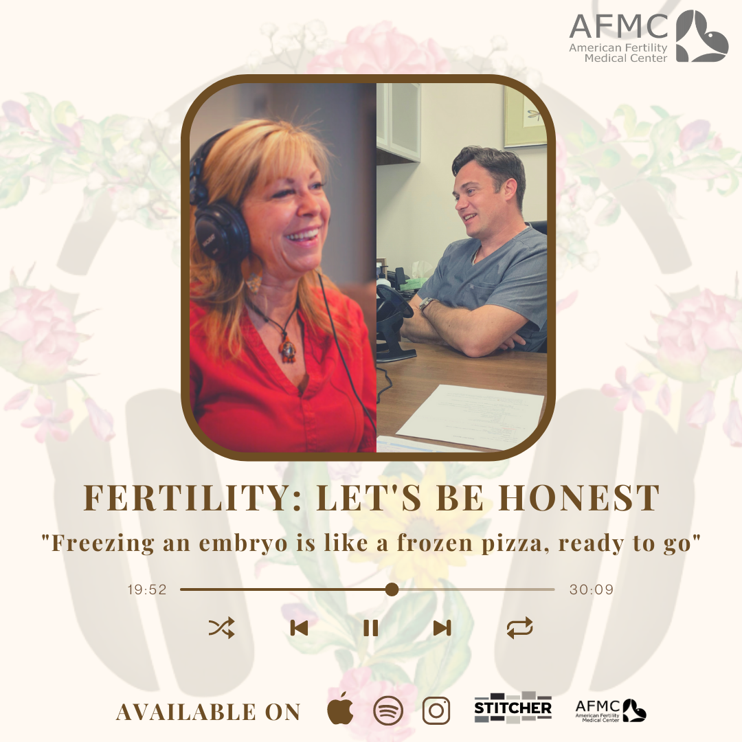 Want a change from your normal music on your morning commute?  Hear our episode with @fertilitypod and @calisse3103 ! 𝗔𝗙𝗠𝗖 Medical Director Dr. Jovanovic is their first remote guest since lockdown! In the episode he discusses 🍍 Diminished Ovarian Reserve 🍍 COVID Adaptation 🍍 International Fertility Practices and Insurances 🍕 How Embryos are like Frozen Pizzas Ready to Go!  Read all about Dr. Jovanovic's extensive reproductive endocrinology experience at @fertilitypod IG page!  #fertility #podcast #podcastlife #fertilitysupport #fertilityclinic #fertilityspecialist #infertility #ttc #ivf #ttccommunity #fertilityhelp #fertilitycoach #infertilitywarrior #online